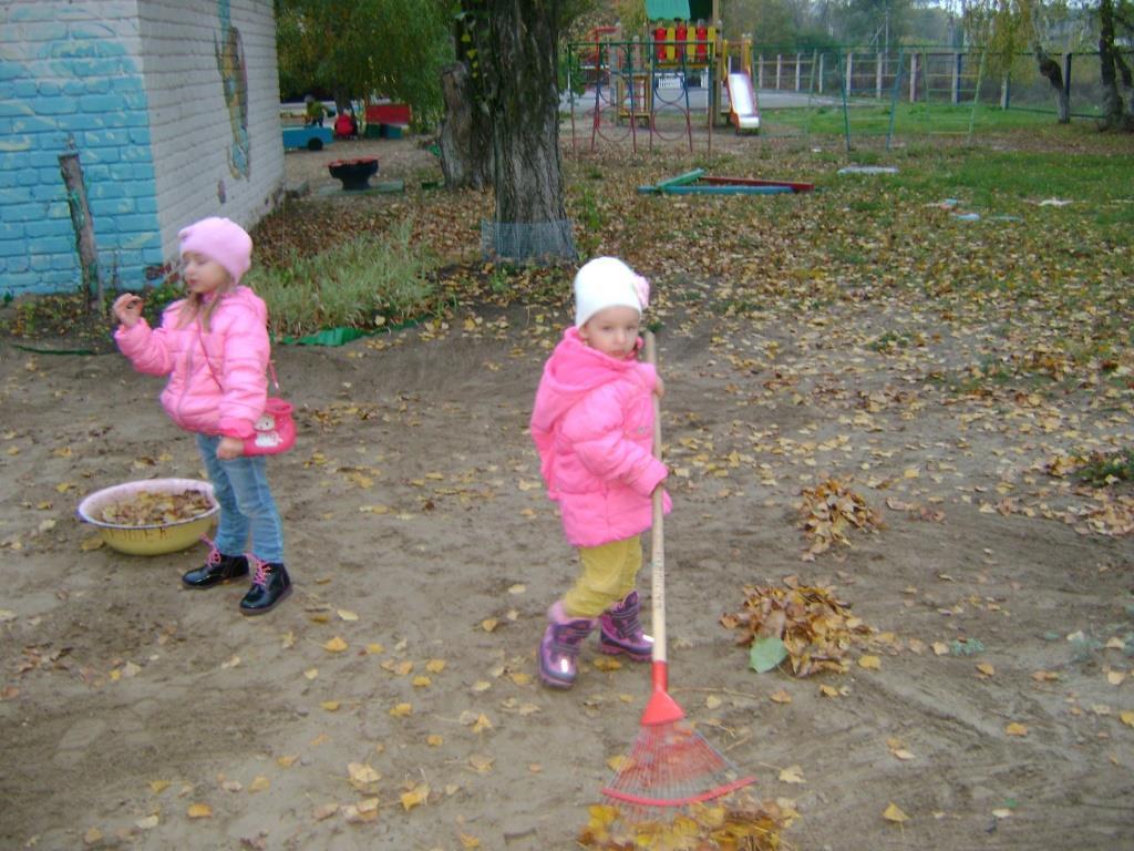 Картинки дети трудятся в природе